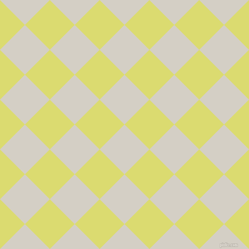 45/135 degree angle diagonal checkered chequered squares checker pattern checkers background, 70 pixel squares size, Westar and Goldenrod checkers chequered checkered squares seamless tileable