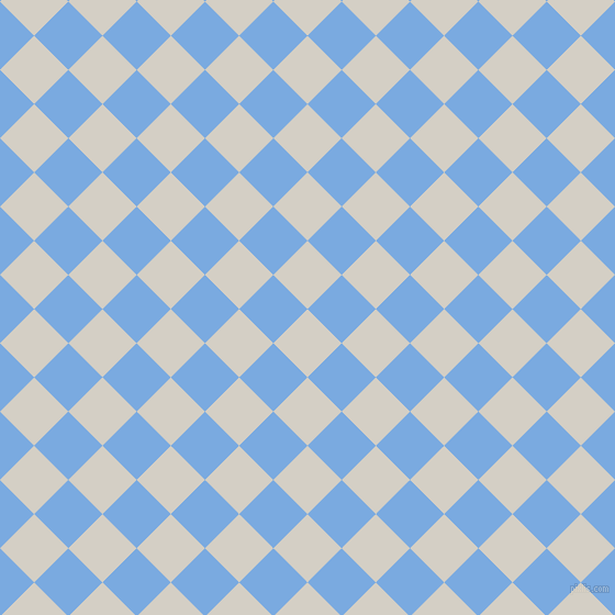 45/135 degree angle diagonal checkered chequered squares checker pattern checkers background, 44 pixel square size, , Westar and Jordy Blue checkers chequered checkered squares seamless tileable
