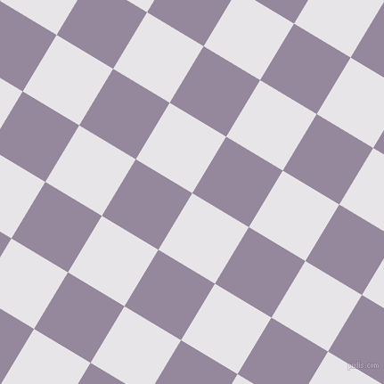 59/149 degree angle diagonal checkered chequered squares checker pattern checkers background, 74 pixel square size, , White Lilac and Amethyst Smoke checkers chequered checkered squares seamless tileable