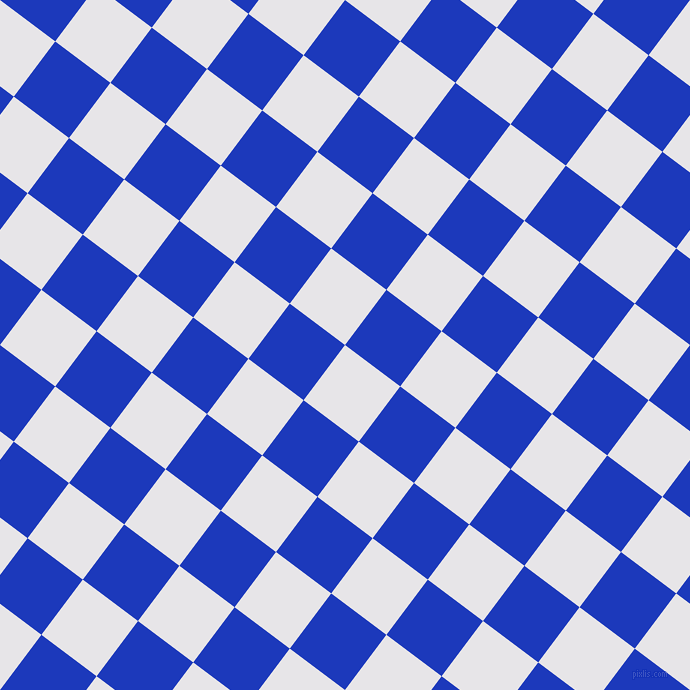 53/143 degree angle diagonal checkered chequered squares checker pattern checkers background, 69 pixel squares size, , White Lilac and Persian Blue checkers chequered checkered squares seamless tileable