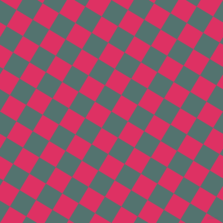 59/149 degree angle diagonal checkered chequered squares checker pattern checkers background, 63 pixel square size, , William and Cerise checkers chequered checkered squares seamless tileable