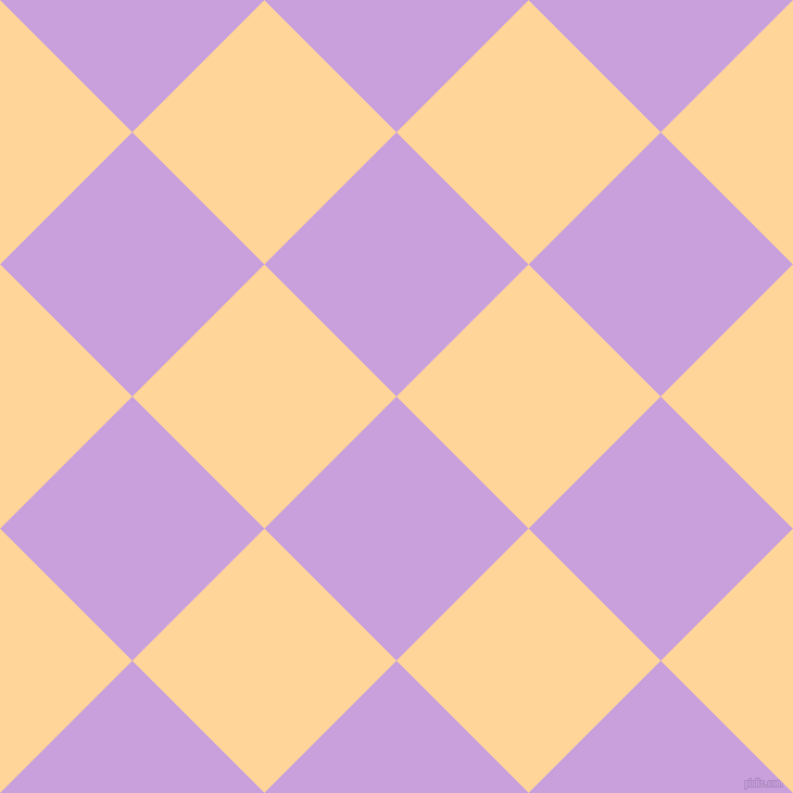 45/135 degree angle diagonal checkered chequered squares checker pattern checkers background, 172 pixel squares size, , Wisteria and Caramel checkers chequered checkered squares seamless tileable