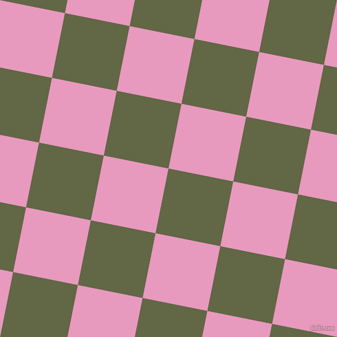 79/169 degree angle diagonal checkered chequered squares checker pattern checkers background, 96 pixel squares size, , Woodland and Shocking checkers chequered checkered squares seamless tileable