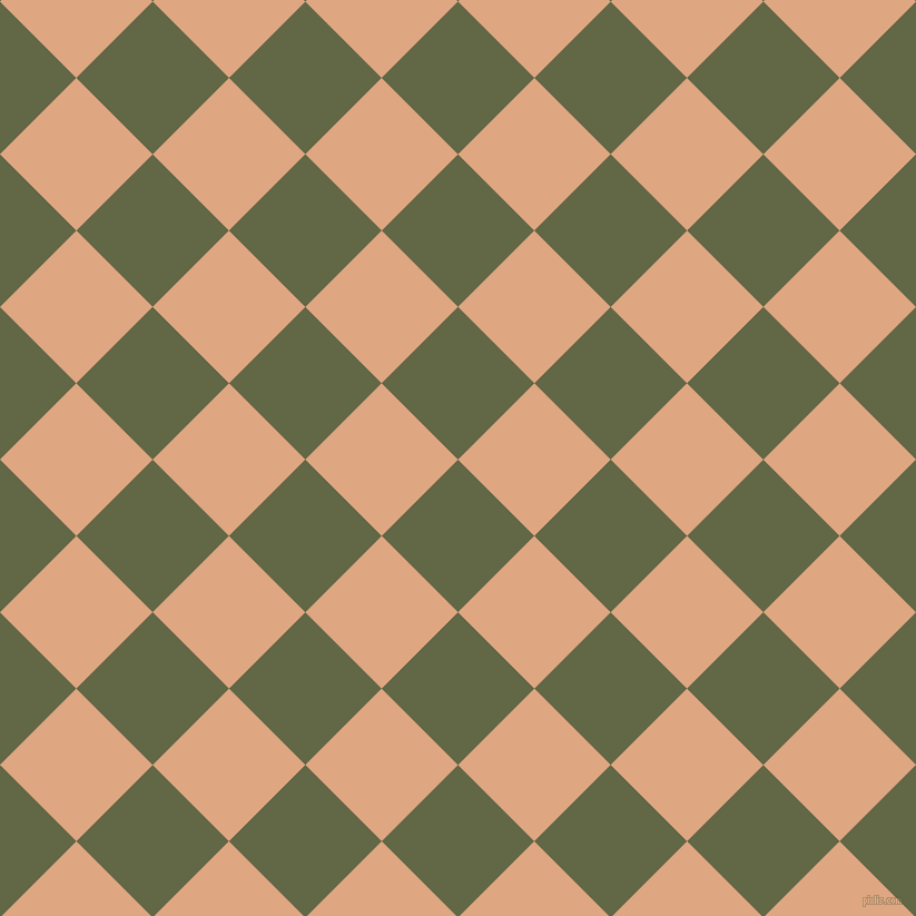45/135 degree angle diagonal checkered chequered squares checker pattern checkers background, 97 pixel squares size, Woodland and Tumbleweed checkers chequered checkered squares seamless tileable