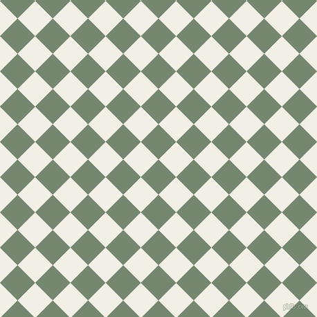 45/135 degree angle diagonal checkered chequered squares checker pattern checkers background, 36 pixel square size, , Xanadu and Alabaster checkers chequered checkered squares seamless tileable