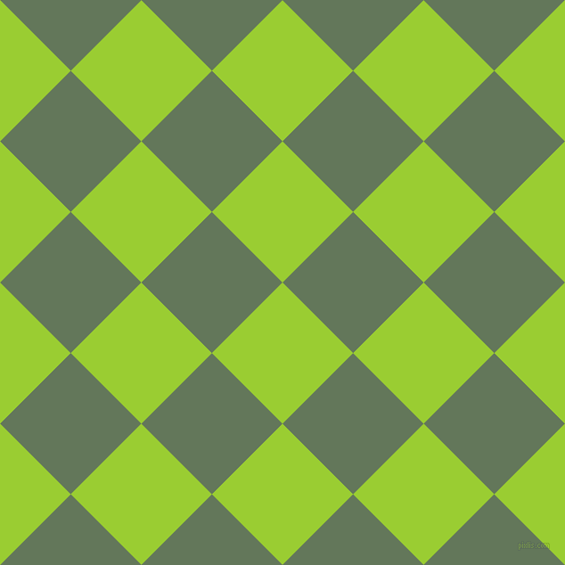 45/135 degree angle diagonal checkered chequered squares checker pattern checkers background, 112 pixel squares size, , Yellow Green and Axolotl checkers chequered checkered squares seamless tileable
