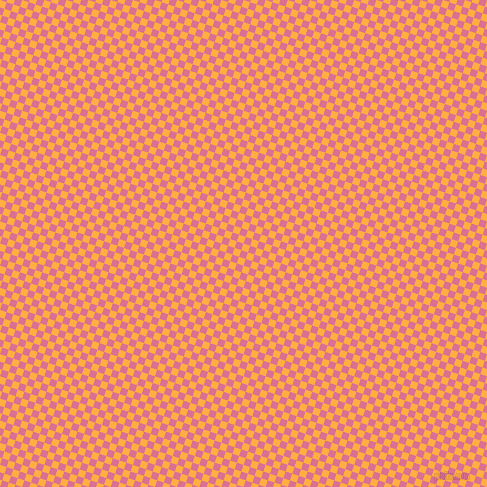 72/162 degree angle diagonal checkered chequered squares checker pattern checkers background, 7 pixel square size, , Yellow Orange and Pale Violet Red checkers chequered checkered squares seamless tileable