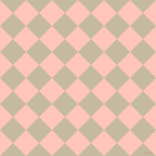 45/135 degree angle diagonal checkered chequered squares checker pattern checkers background, 78 pixel squares size, , Your Pink and Sisal checkers chequered checkered squares seamless tileable