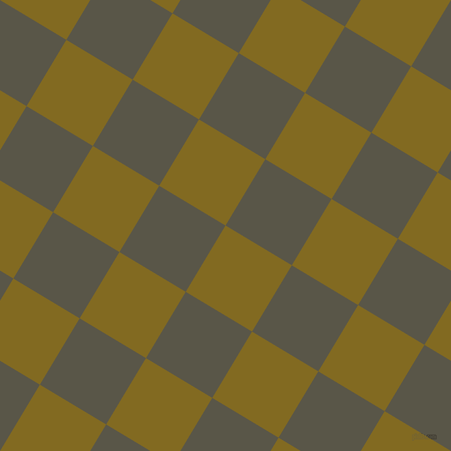 59/149 degree angle diagonal checkered chequered squares checker pattern checkers background, 113 pixel square size, Yukon Gold and Millbrook checkers chequered checkered squares seamless tileable