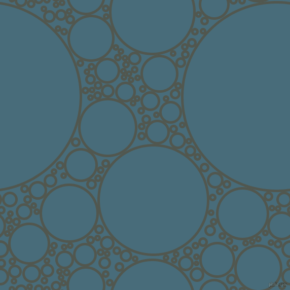 bubbles, circles, sponge, big, medium, small, 5 pixel line width, Battleship Grey and Bismark circles bubbles sponge soap seamless tileable