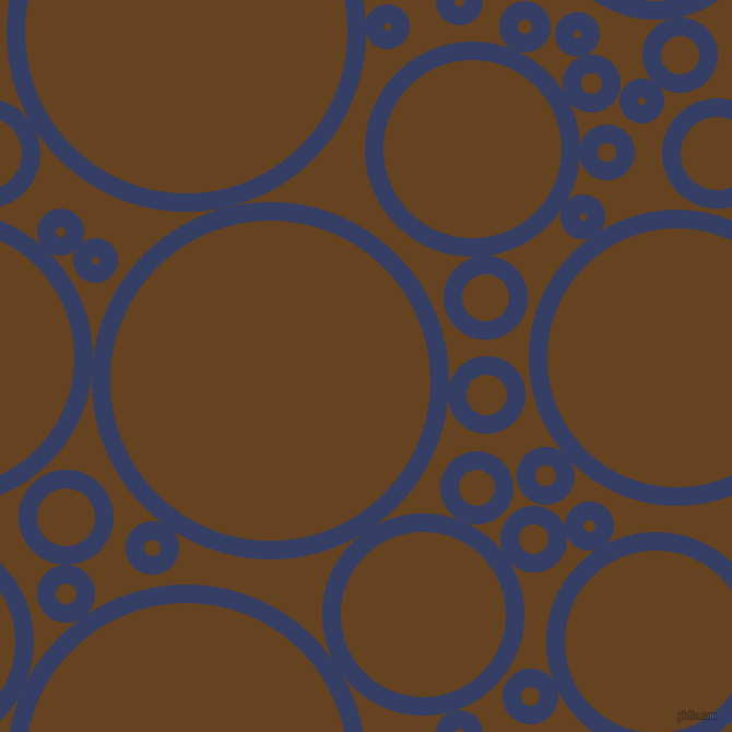 bubbles, circles, sponge, big, medium, small, 17 pixel line width, Bay Of Many and Dark Brown circles bubbles sponge soap seamless tileable