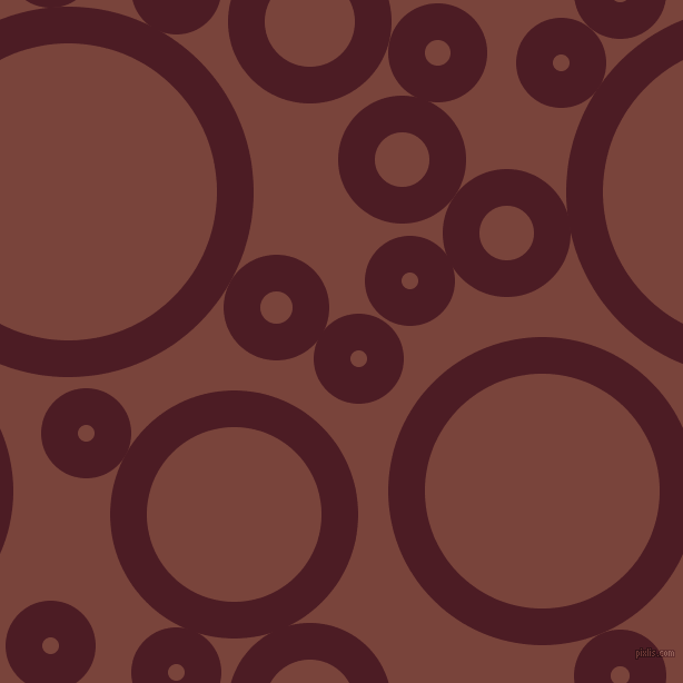 bubbles, circles, sponge, big, medium, small, 33 pixel line width, Bordeaux and Bole circles bubbles sponge soap seamless tileable