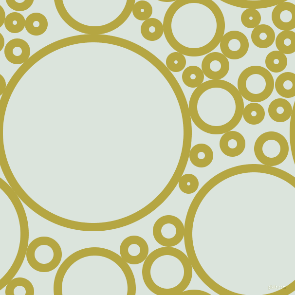 bubbles, circles, sponge, big, medium, small, 17 pixel line width, Brass and Aqua Squeeze circles bubbles sponge soap seamless tileable