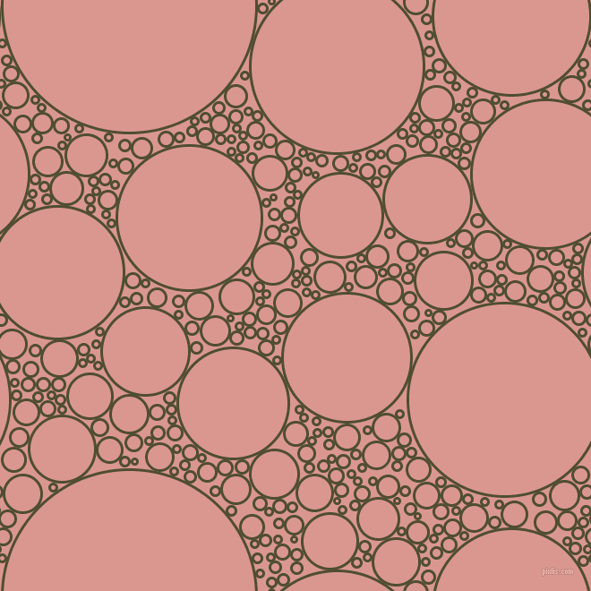 bubbles, circles, sponge, big, medium, small, 3 pixel line width, Camouflage and Petite Orchid circles bubbles sponge soap seamless tileable