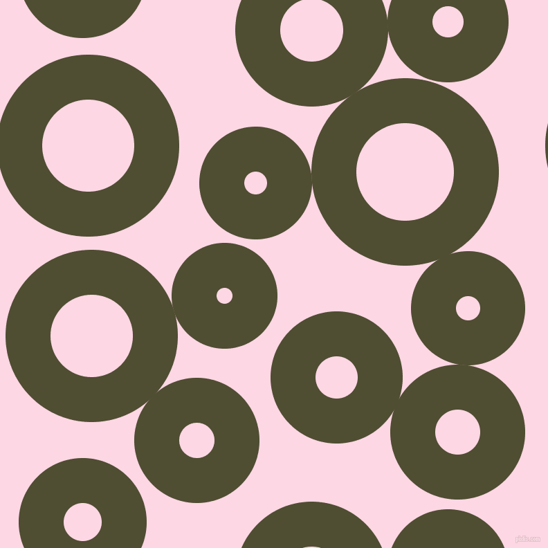 bubbles, circles, sponge, big, medium, small, 65 pixel line width, Camouflage and Pig Pink circles bubbles sponge soap seamless tileable