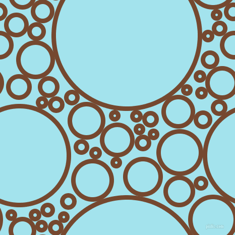 bubbles, circles, sponge, big, medium, small, 9 pixel line width, Cape Palliser and Blizzard Blue circles bubbles sponge soap seamless tileable