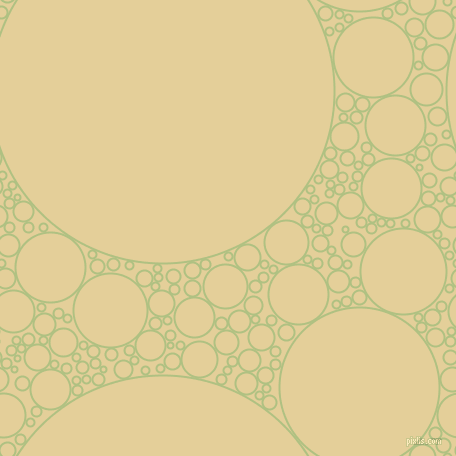 bubbles, circles, sponge, big, medium, small, 2 pixel line width, Caper and Double Colonial White circles bubbles sponge soap seamless tileable