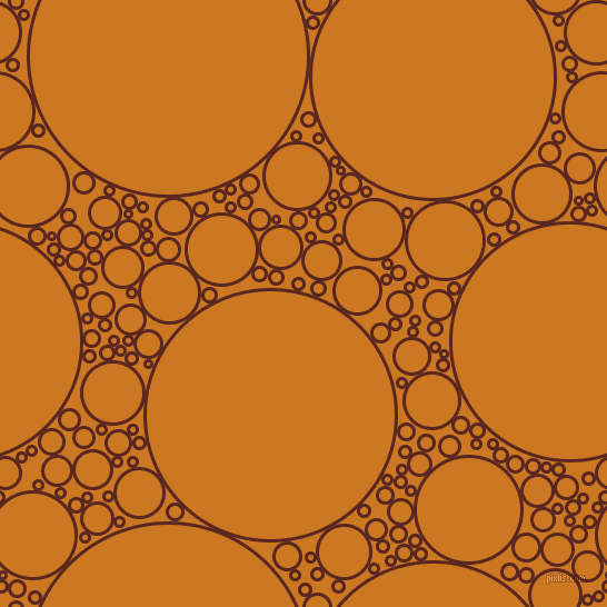 bubbles, circles, sponge, big, medium, small, 3 pixel line width, Caput Mortuum and Ochre circles bubbles sponge soap seamless tileable