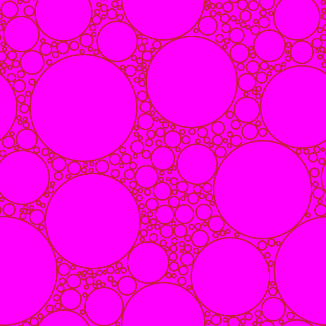 bubbles, circles, sponge, big, medium, small, 3 pixel line width, Cardinal and Magenta circles bubbles sponge soap seamless tileable