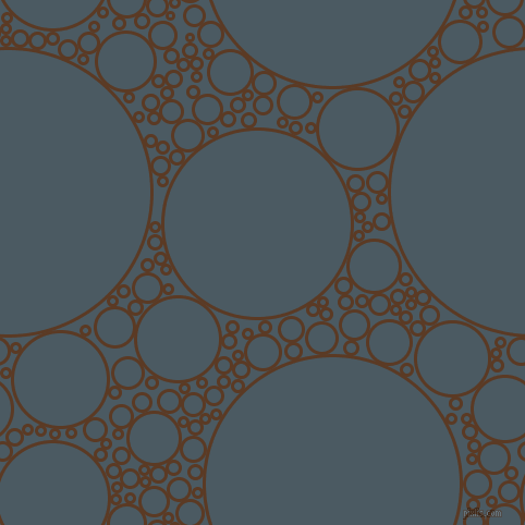 bubbles, circles, sponge, big, medium, small, 3 pixel line width, Carnaby Tan and Fiord circles bubbles sponge soap seamless tileable