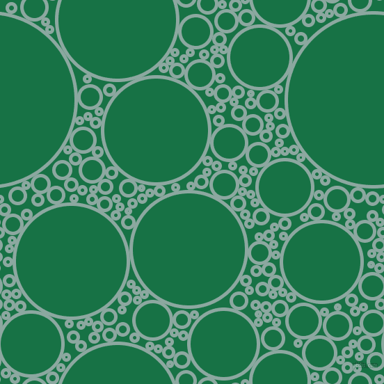 bubbles, circles, sponge, big, medium, small, 5 pixel line width, Cascade and Dark Spring Green circles bubbles sponge soap seamless tileable