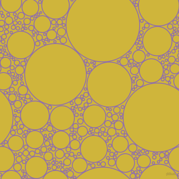 bubbles, circles, sponge, big, medium, small, 3 pixel line width, Ce Soir and Old Gold circles bubbles sponge soap seamless tileable