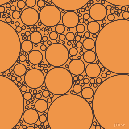 bubbles, circles, sponge, big, medium, small, 3 pixel line width, Cedar and Sea Buckthorn circles bubbles sponge soap seamless tileable