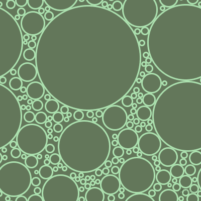 bubbles, circles, sponge, big, medium, small, 3 pixel line width, Celadon and Axolotl circles bubbles sponge soap seamless tileable