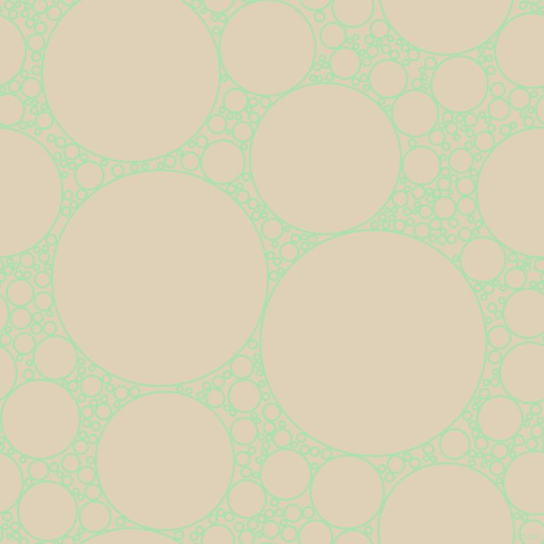Celadon And Spanish White Circles Bubbles Sponge Soap Seamless Tileable 238qmc