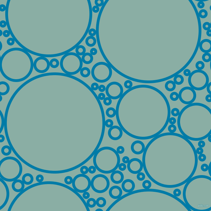 bubbles, circles, sponge, big, medium, small, 9 pixel line widthCerulean and Sea Nymph circles bubbles sponge soap seamless tileable