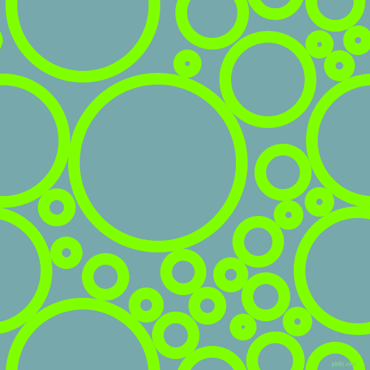 bubbles, circles, sponge, big, medium, small, 17 pixel line width, Chartreuse and Neptune circles bubbles sponge soap seamless tileable