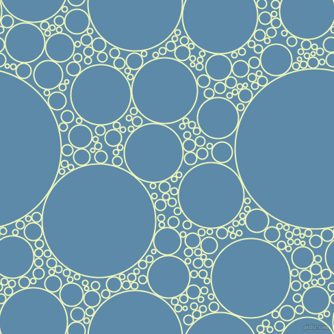 bubbles, circles, sponge, big, medium, small, 2 pixel line width, Chiffon and Air Force Blue circles bubbles sponge soap seamless tileable