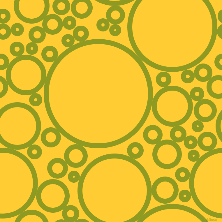 bubbles, circles, sponge, big, medium, small, 17 pixel line width, Citron and Sunglow circles bubbles sponge soap seamless tileable