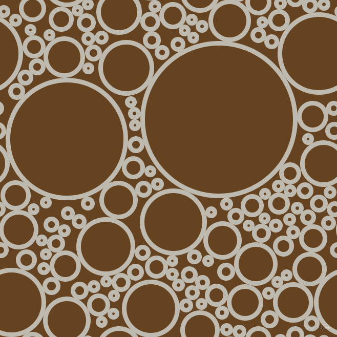 bubbles, circles, sponge, big, medium, small, 9 pixel line widthCotton Seed and Dark Brown circles bubbles sponge soap seamless tileable