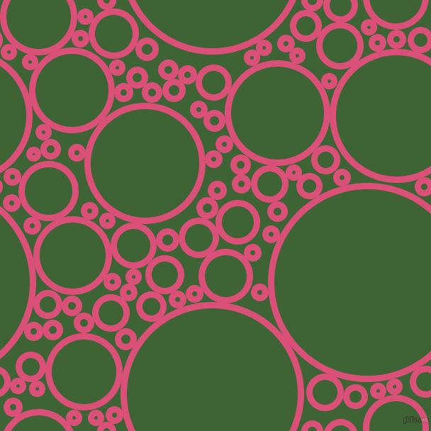 bubbles, circles, sponge, big, medium, small, 9 pixel line width, Cranberry and Green House circles bubbles sponge soap seamless tileable