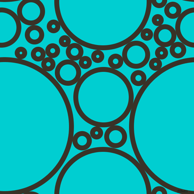 bubbles, circles, sponge, big, medium, small, 17 pixel line width, Creole and Dark Turquoise circles bubbles sponge soap seamless tileable