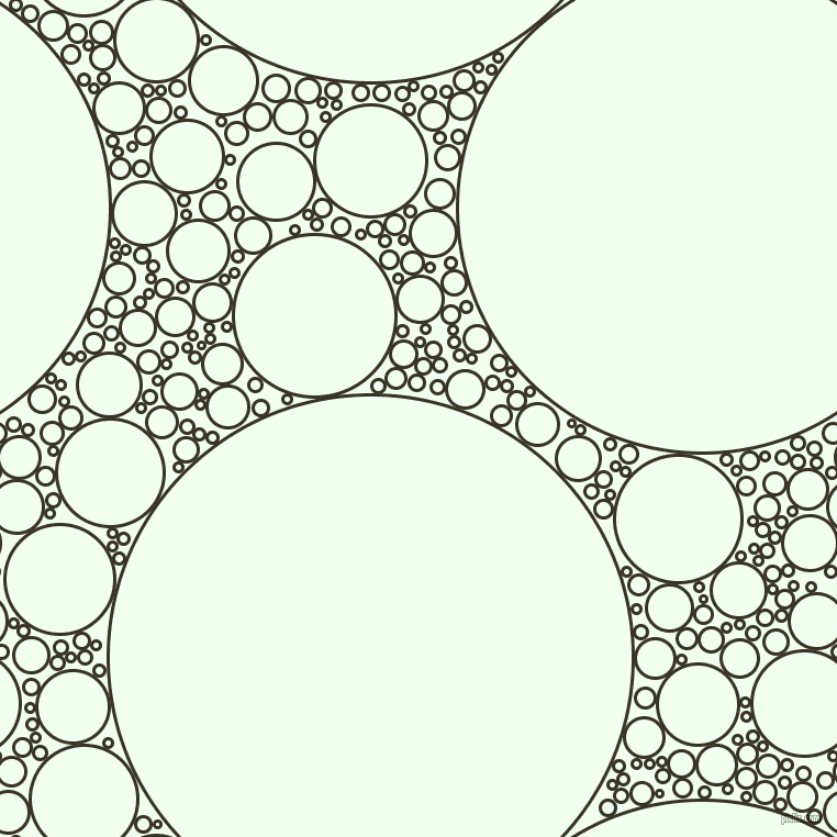 bubbles, circles, sponge, big, medium, small, 3 pixel line width, Creole and Honeydew circles bubbles sponge soap seamless tileable