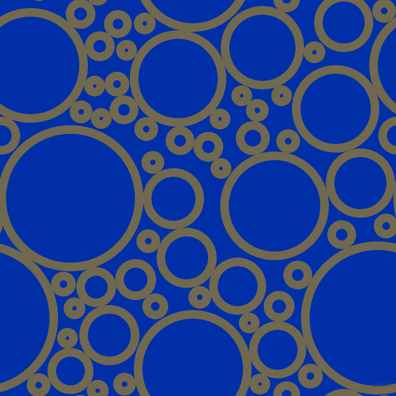 bubbles, circles, sponge, big, medium, small, 17 pixel line width, Crocodile and International Klein Blue circles bubbles sponge soap seamless tileable