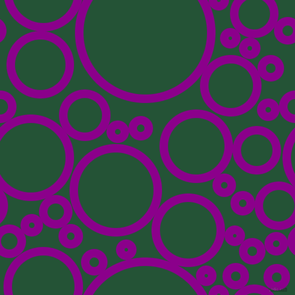 bubbles, circles, sponge, big, medium, small, 17 pixel line width, Dark Magenta and Kaitoke Green circles bubbles sponge soap seamless tileable