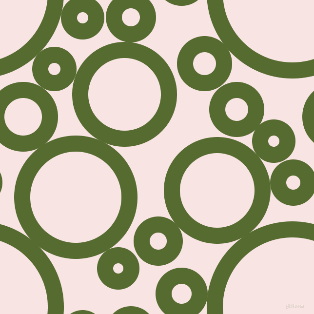 bubbles, circles, sponge, big, medium, small, 33 pixel line width, Dark Olive Green and Tutu circles bubbles sponge soap seamless tileable