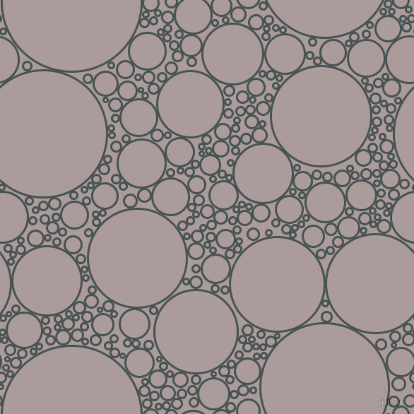bubbles, circles, sponge, big, medium, small, 3 pixel line width, Dark Slate and Dusty Grey circles bubbles sponge soap seamless tileable