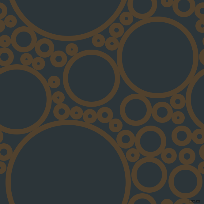 bubbles, circles, sponge, big, medium, small, 17 pixel line width, Deep Bronze and Gunmetal circles bubbles sponge soap seamless tileable