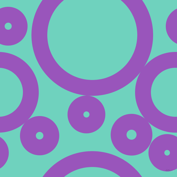 bubbles, circles, sponge, big, medium, small, 65 pixel line width, Deep Lilac and Downy circles bubbles sponge soap seamless tileable