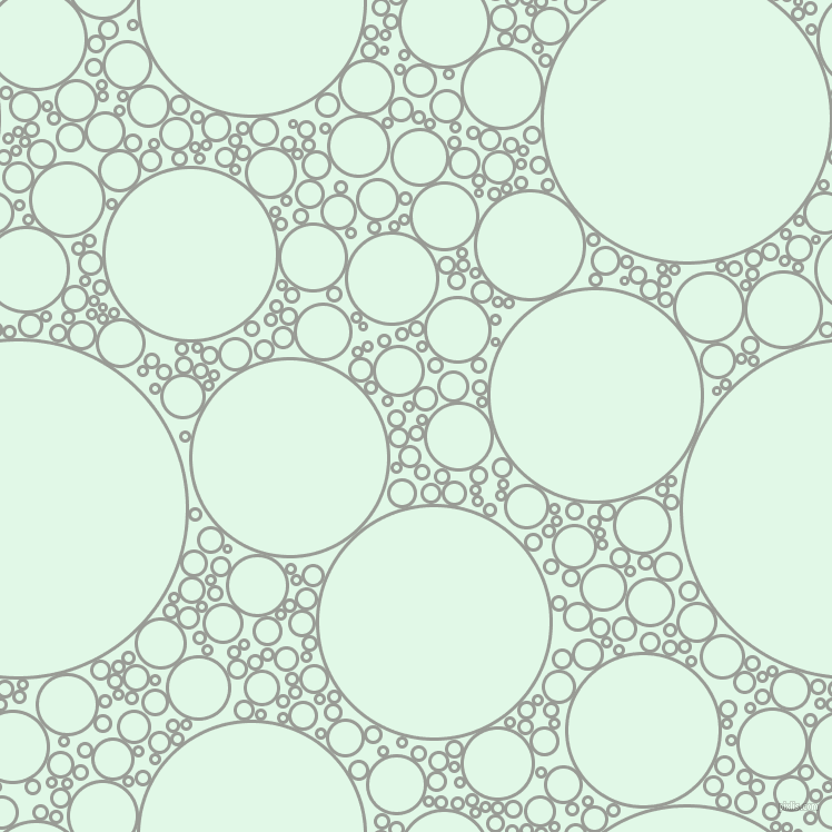 bubbles, circles, sponge, big, medium, small, 3 pixel line width, Delta and Cosmic Latte circles bubbles sponge soap seamless tileable