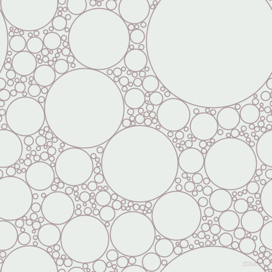 bubbles, circles, sponge, big, medium, small, 2 pixel line width, Dusty Grey and Lily White circles bubbles sponge soap seamless tileable