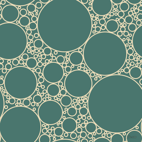 bubbles, circles, sponge, big, medium, small, 3 pixel line width, Dutch White and Dark Green Copper circles bubbles sponge soap seamless tileable