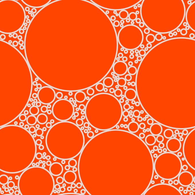 bubbles, circles, sponge, big, medium, small, 5 pixel line width, Ebb and Orange Red circles bubbles sponge soap seamless tileable