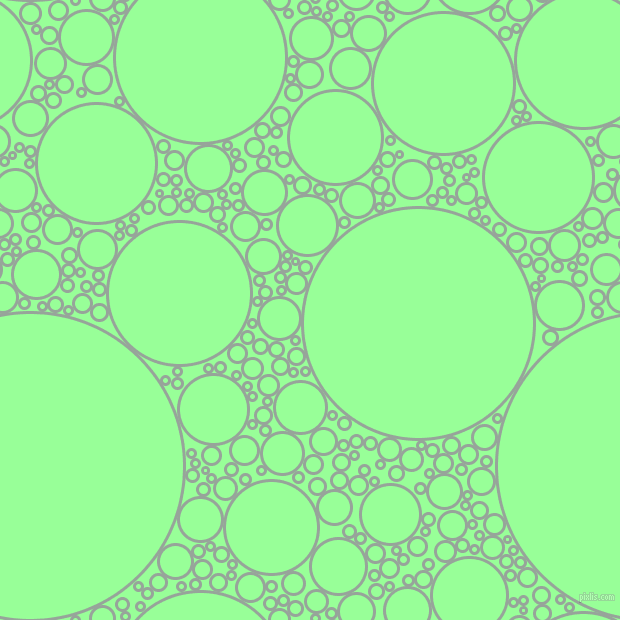 bubbles, circles, sponge, big, medium, small, 3 pixel line width, Edward and Mint Green circles bubbles sponge soap seamless tileable