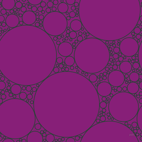 bubbles, circles, sponge, big, medium, small, 2 pixel line width, English Holly and Dark Purple circles bubbles sponge soap seamless tileable