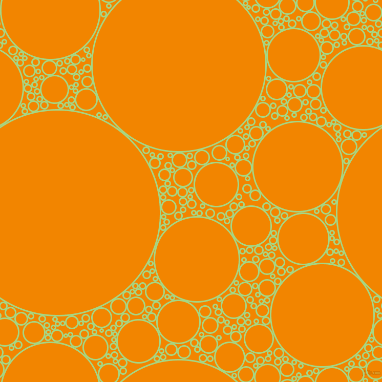 bubbles, circles, sponge, big, medium, small, 3 pixel line widthFeijoa and Tangerine circles bubbles sponge soap seamless tileable